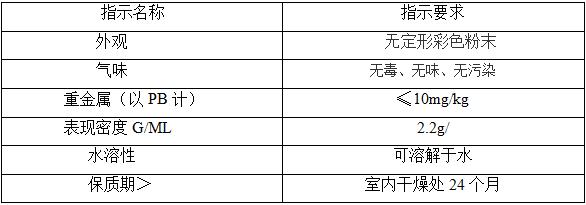 FY-10型粉状着色剂