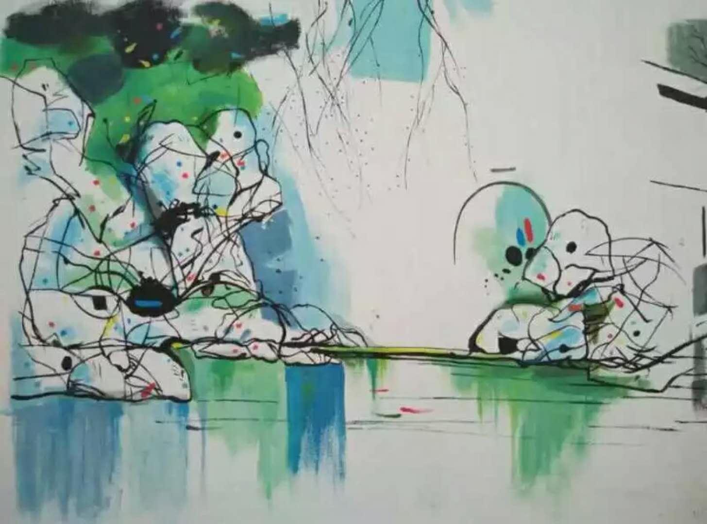 墙画|锦都园林-泉州锦都园林景观工程有限公司