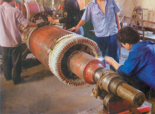 710KW-4电机转子大修.jpg