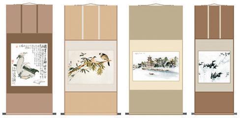 书画装裱|书画装裱-张家口金牌秘书文字书画工作室