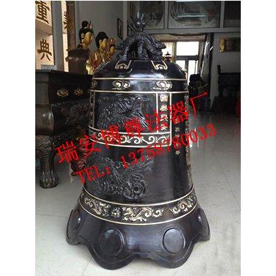 1.2米喇叭形铜钟—博尊工艺|铜钟-瑞安市博尊法器加工厂