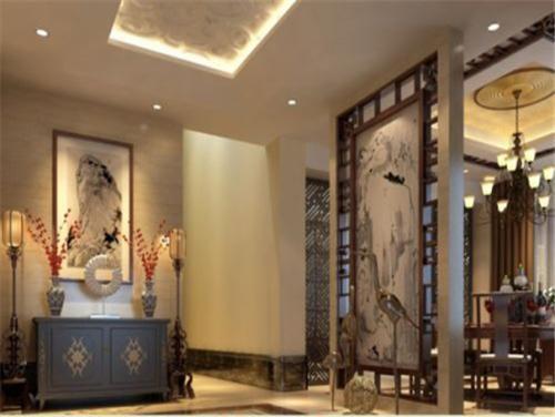 餐厅隔断门造型设计极具风情餐厅隔断效果图_重庆隔断