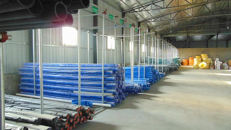 倉庫內景|公司倉庫-廊坊市建新水暖有限公司