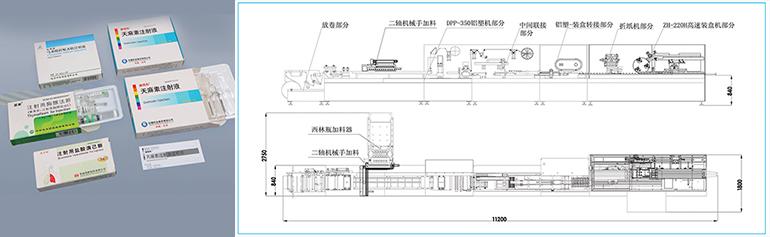 APL-220H-安瓿瓶-西林瓶包装自动生产线