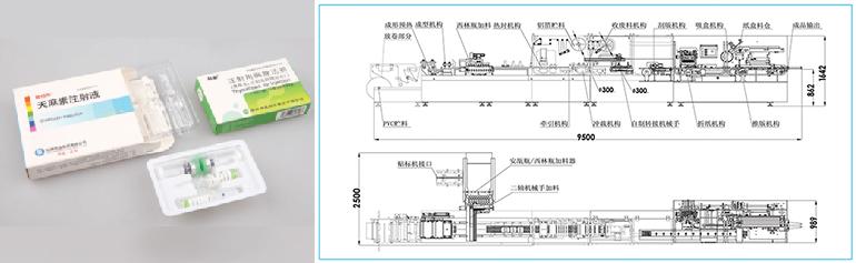 APL-120CA-安瓿瓶-西林瓶包装自动生产线