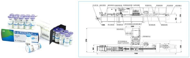 APL-80H西林瓶包装自动生产线
