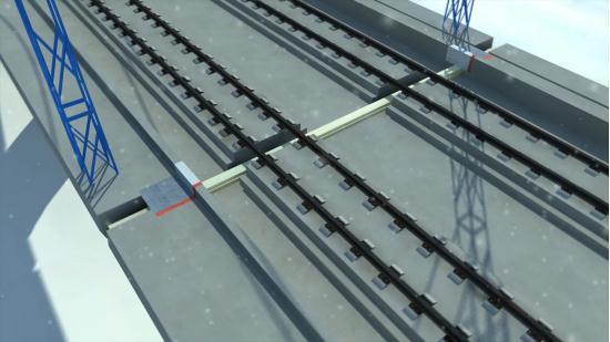 铁路防水伸缩缝系列BIM|BIM模型-武汉八维时空信息技术股份有限公司