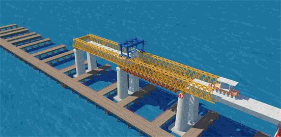 平潭公铁两用跨海桥项目BIM施工应用|BIM信息管理系统-武汉八维时空信息技术股份有限公司