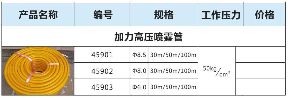 加力高压喷雾管|耐寒PVC水管系列-四会市华通金属筛网制品有限公司