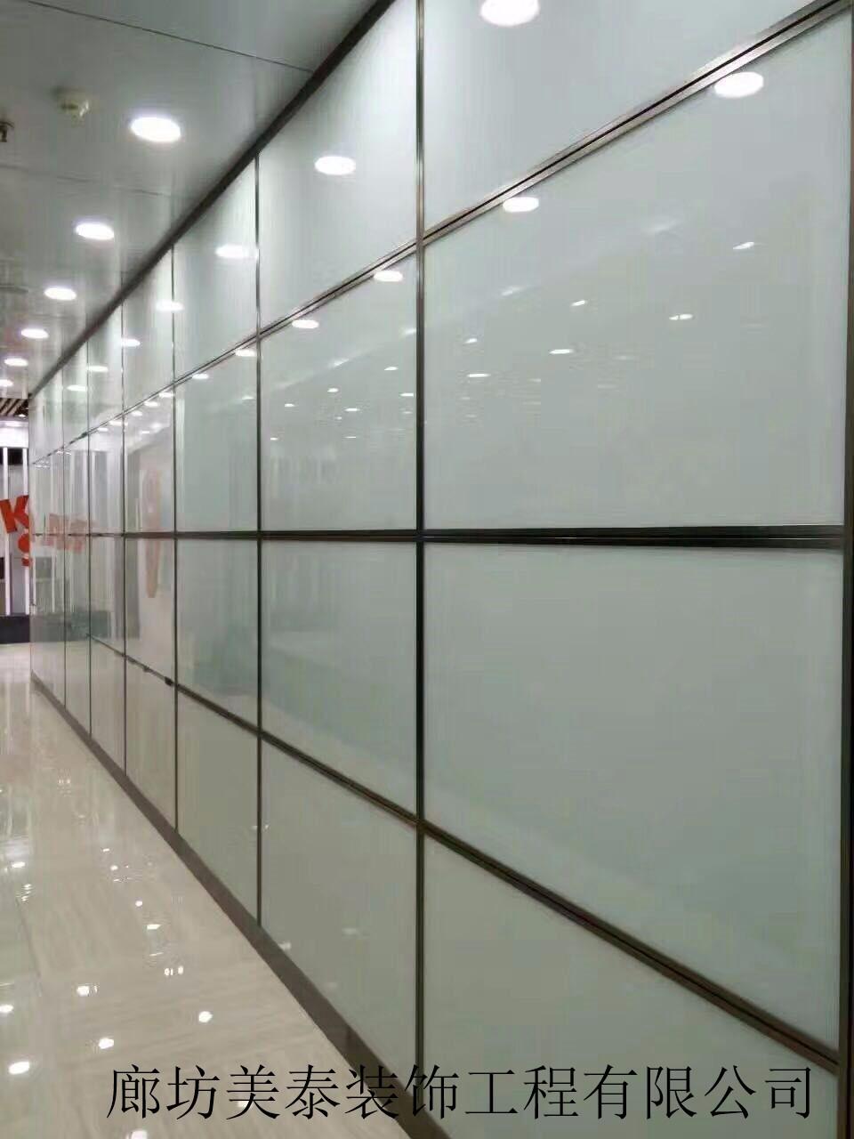 双玻多分格隔断|双玻多分格隔断-廊坊市美泰装饰工程有限公司