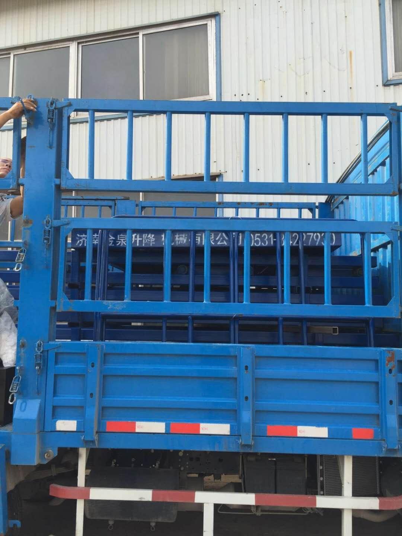 山东滨州合资企业购置金泉导轨货梯|合作案例-济南金泉升降机械有限公司