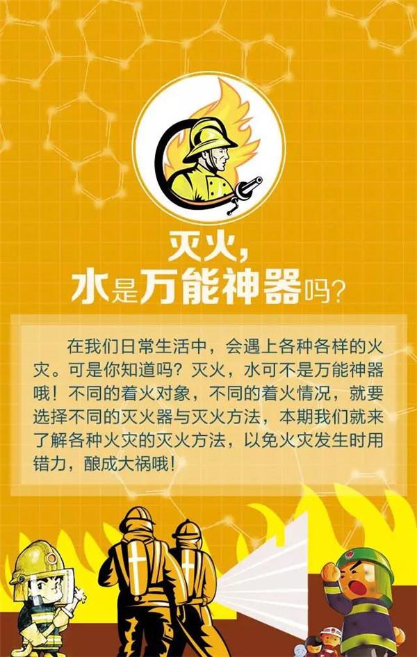 你必須要知道的滅火知識|業界動態-河南中沃消防科技股份有限公司