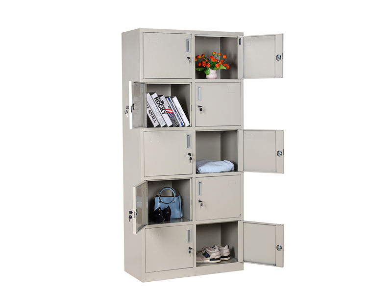 多门柜——通体十门柜|文件柜-广西花城办公家具有限公司