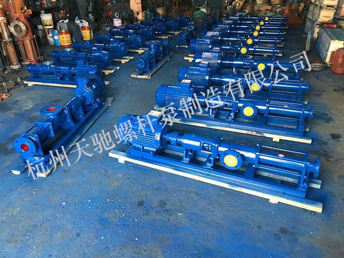 浓浆泵|浓浆泵-杭州天驰螺杆泵制造 天天彩票