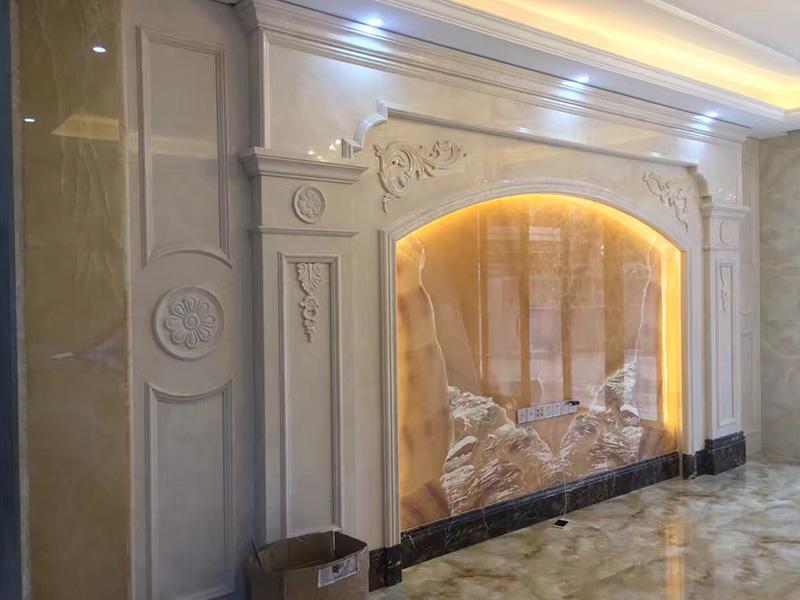 背景墻|背景墻-云浮市粵華富石材有限公司