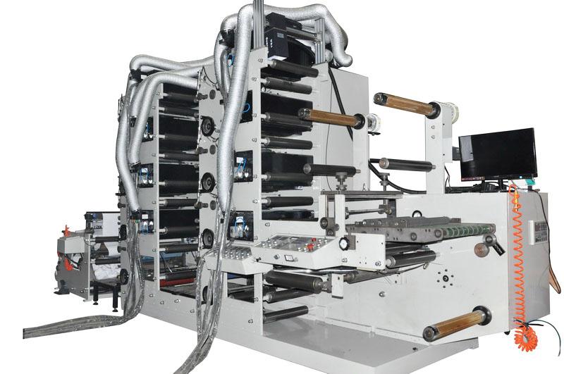 8色560物流标签柔版印刷机定制|柔版印刷机-瑞安市欧范机械有限公司