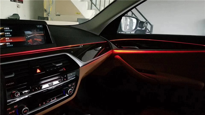 宝马3,4,5,7,x3,x4,x5,x6系列氛围灯改装升级|原厂升级-福州润卡汽车