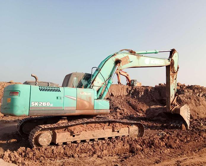 正铲挖掘机