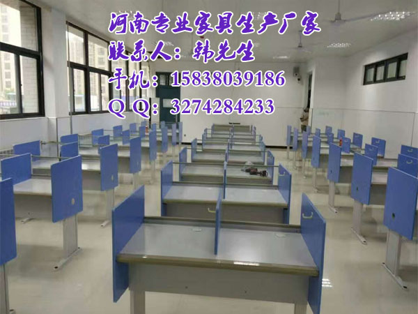 河南地区生产商——学校网络教室电脑桌具体尺寸|新闻-郑州美冠家具有限公司