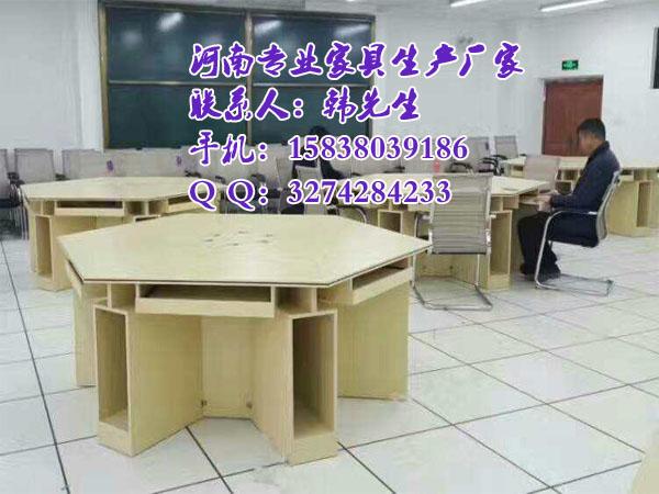 鄭州學生六角微機桌,學校實訓桌尺寸|新聞-鄭州美冠家具有限公司