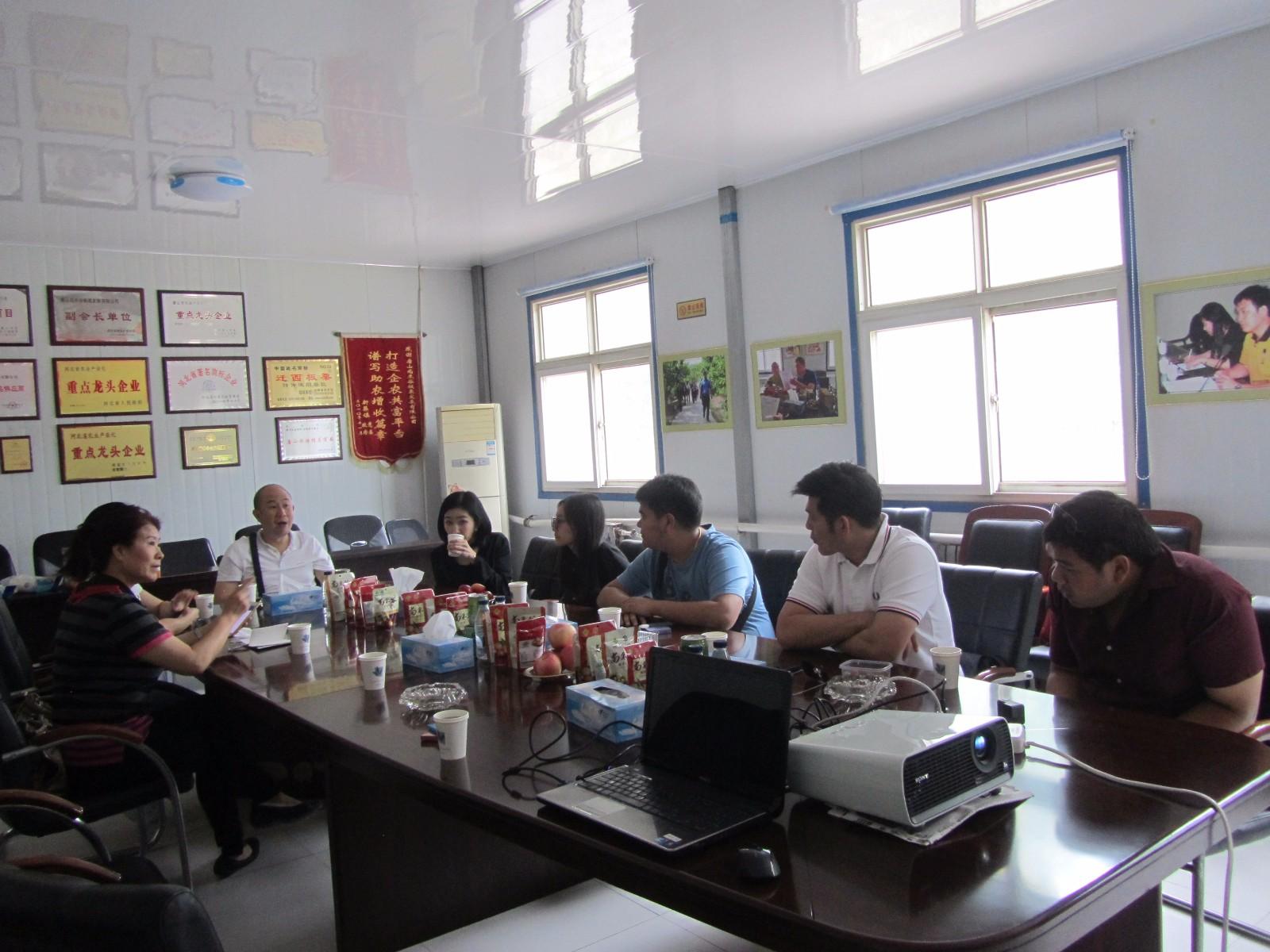 泰國客商到唐山尚禾谷板栗發展有限公司 考察洽談合作事宜|新聞資訊-唐山尚禾谷板栗發展有限公司