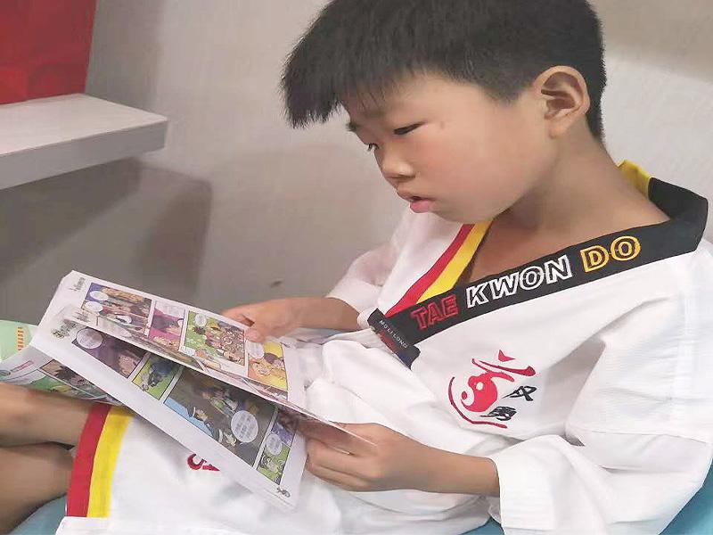 公益图书馆 公益图书馆-商丘双勇跆拳道