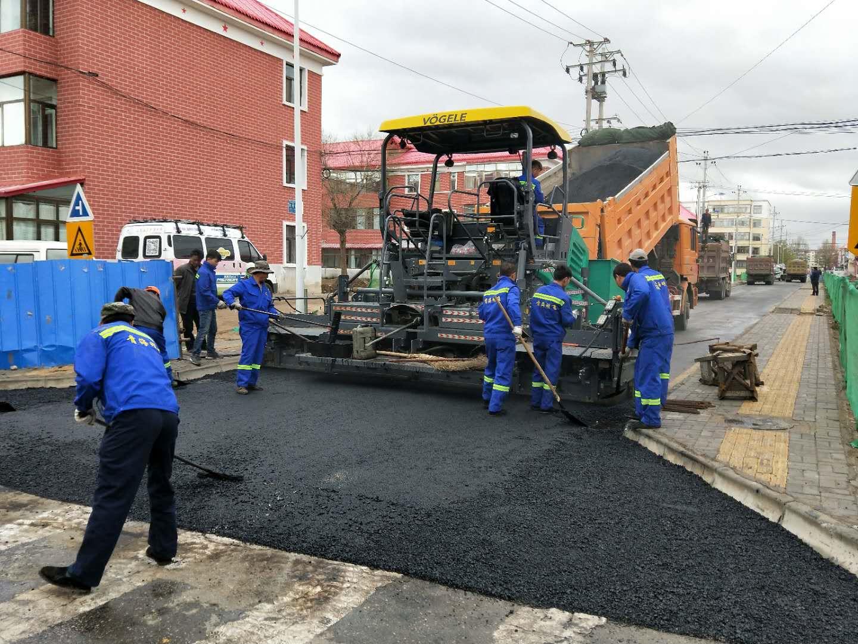 西海镇施工现场|明飞动态-青海明飞投资发展有限公司