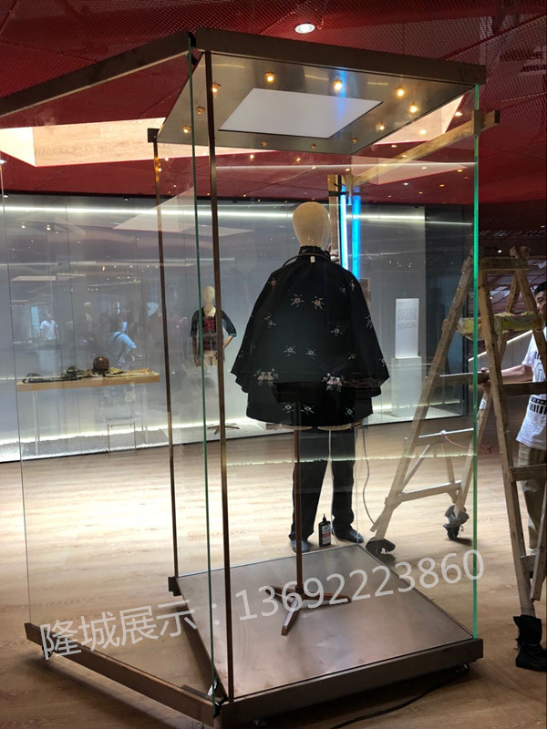 深圳艺之卉博物馆展柜完工|博物馆工程案例-隆城展示