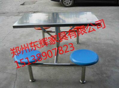 洛阳学校餐桌椅 玻璃钢餐桌椅加工生产价格新闻|新闻-郑州东辉家具有限公司