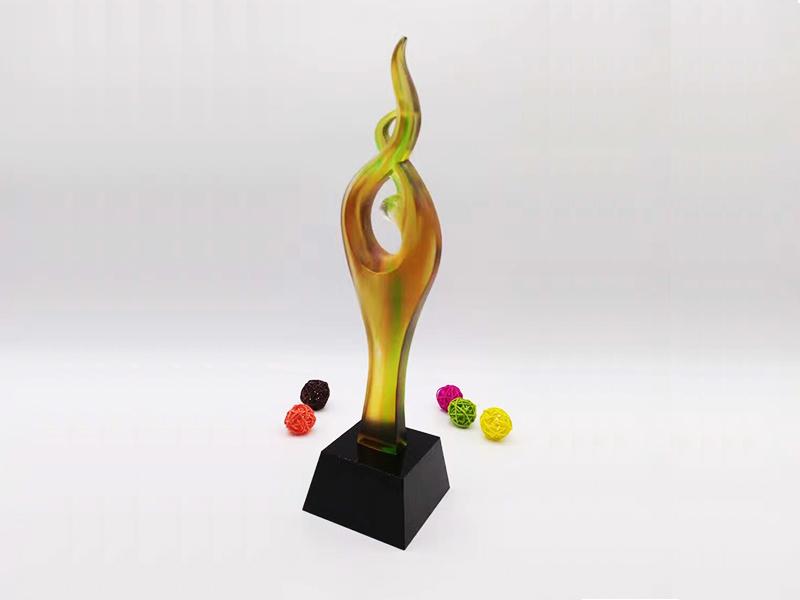 玻璃奖杯 设计|水晶奖杯-浦江鸿亿水晶礼品有限公司