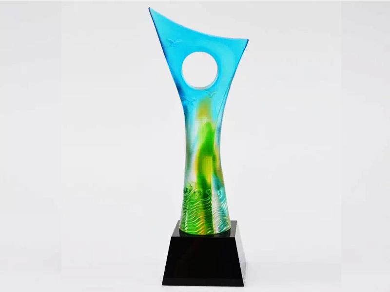 玻璃奖杯 厂家 设计 |水晶奖杯-浦江鸿亿水晶礼品有限公司