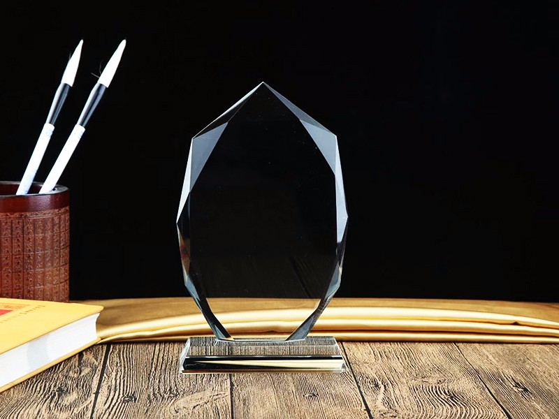 平面透明 水晶玻璃奖杯 |水晶奖杯工艺品礼品-浦江鸿亿水晶礼品有限公司