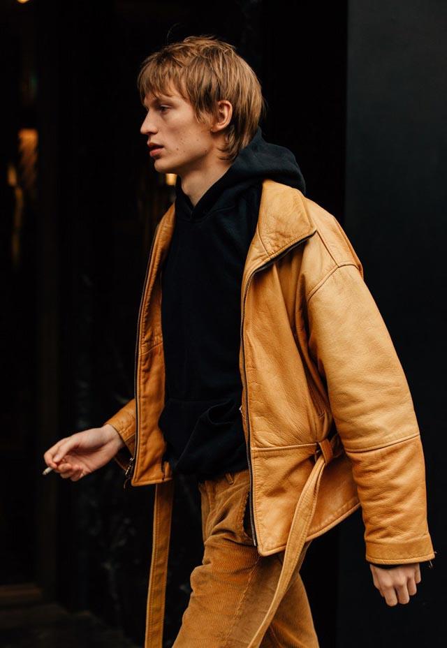 最新时尚冬季男装街拍 来自2018秋冬米兰时装周|行业新闻-上海法洛奇服装有限公司