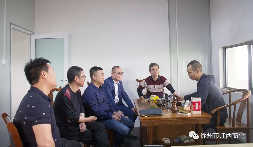 徐州市江西商会走访会员企业——邳州欧麦烘焙 商会新闻-徐州市江西商会