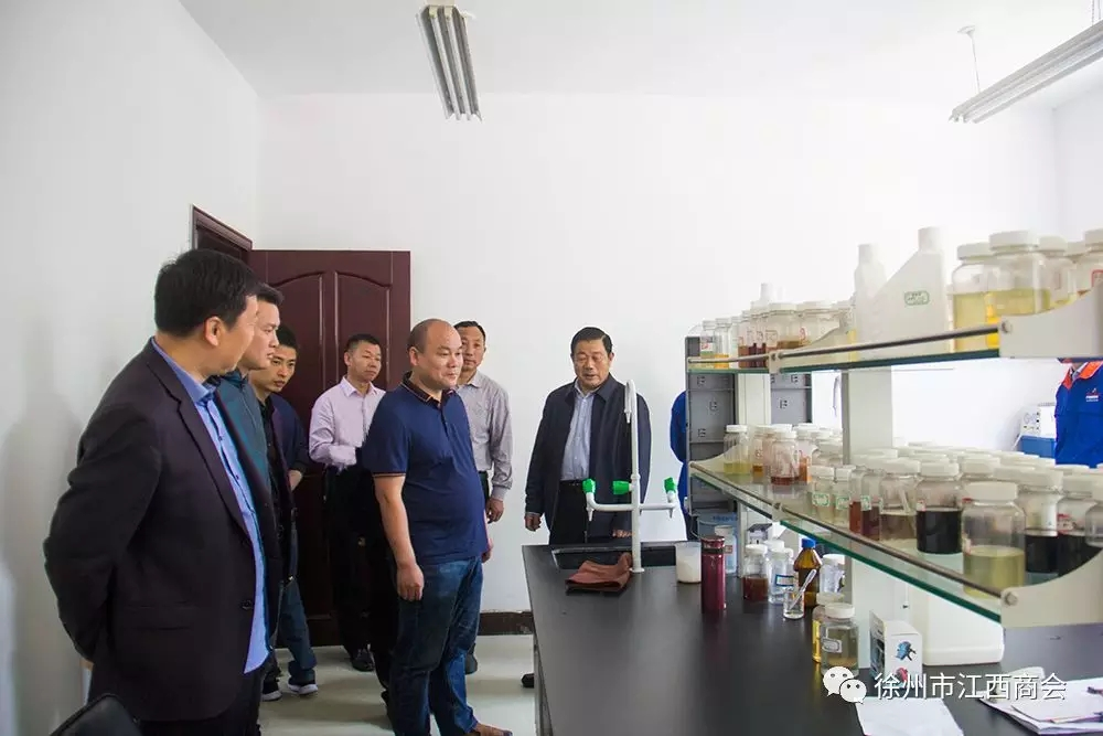 徐州市江西商会领导成员考察江苏超力公司|商会新闻-徐州市江西商会