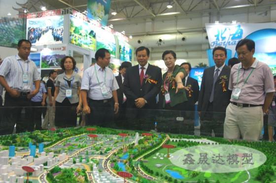 廣西產業園模型設計