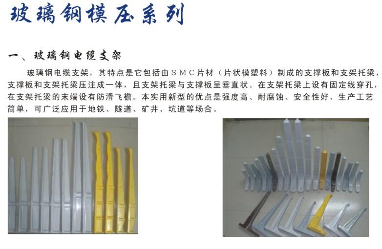 玻璃钢模压制品 玻璃钢模压制品-真旺玻璃钢公司
