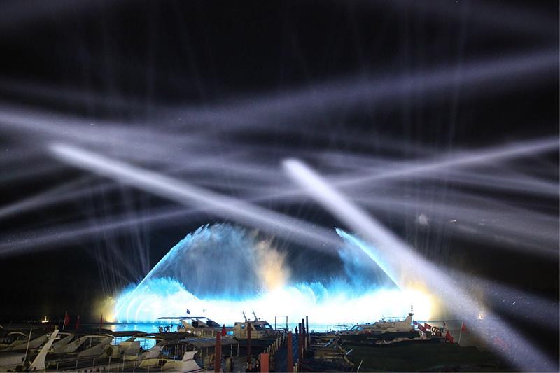 亚洲博鳌论坛大型音乐喷泉|工程案例-山东中润喷泉工程有限公司