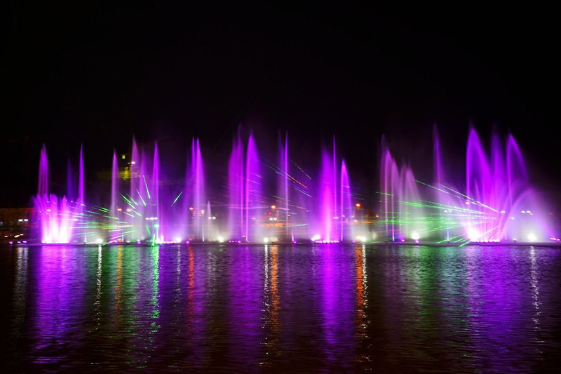 海阳亚沙会大型音乐喷泉|工程案例-山东中润喷泉工程有限公司