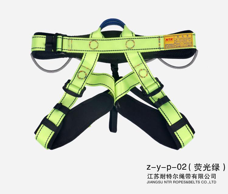 Z-Y-P-02半身安全帶墜落懸掛戶外運動登山攀巖速降 戶外安全帶系列-江蘇耐特爾繩帶有限公司