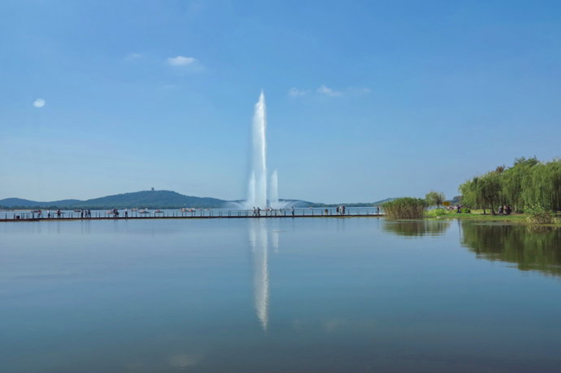 百米喷泉 百米喷泉-山东中润喷泉工程有限公司