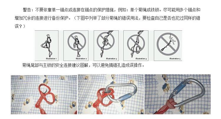 菊花鏈繩|攀巖裝備-江蘇耐特爾繩帶有限公司