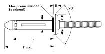 灯笼铆钉规格图