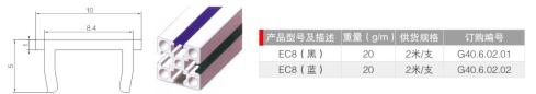 平封槽条-国标40系列装饰件|装饰件-沈阳顺益德铝业有限公司