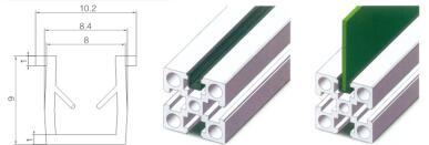 U型线槽-国标40系列装饰件|装饰件-沈阳顺益德铝业有限公司