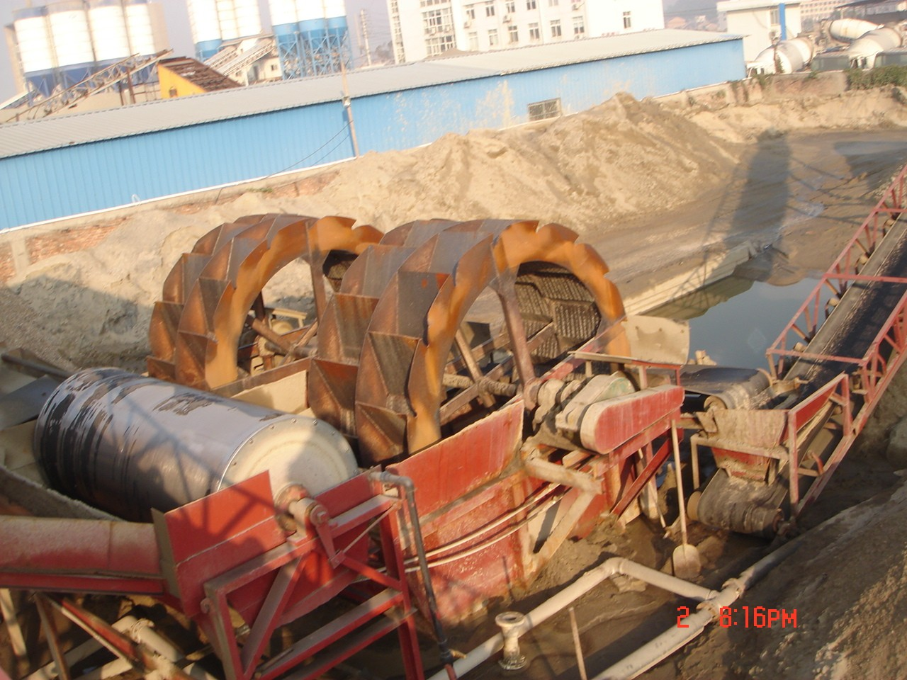 洗砂机,洗石机作用,能洗沙,能洗石子,还能洗西双版纳陨石坠落|新闻动态-青州市远大环保清淤机械科技有限公司