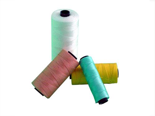 用草帘线编织出来的网绳性能优异
