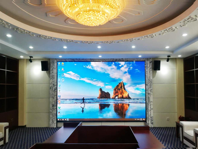 阿拉伯學院P2.5小間距顯示屏|經典案例-鑫盛達(寧夏)光電技術發展有限公司