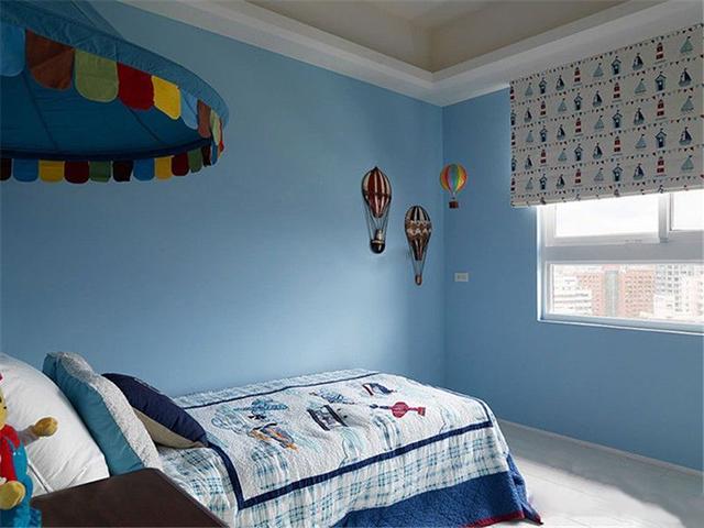 臥室墻面漆顏色搭配
