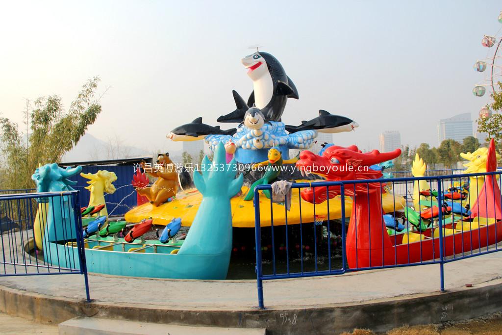激战鲨鱼岛游乐设备|激战鲨鱼岛-许昌英博游乐设备有限公司